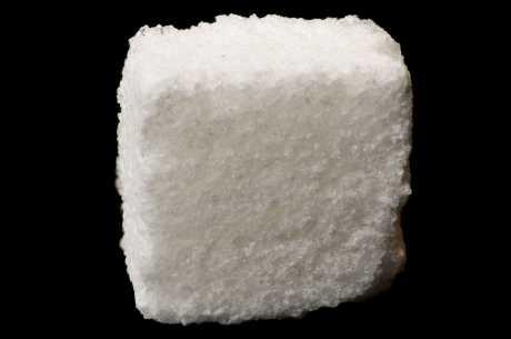 Sukkerbit mot blemme på tunga