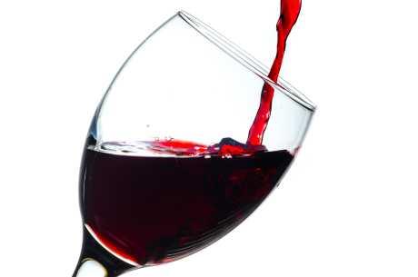 Rødvinflekker