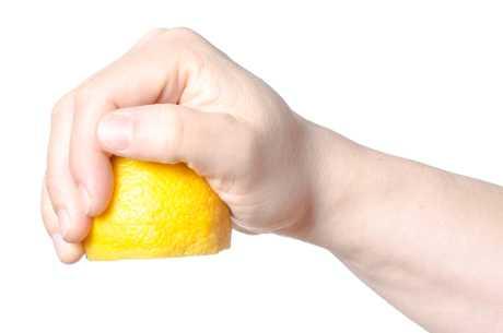 Sitron i druesaft