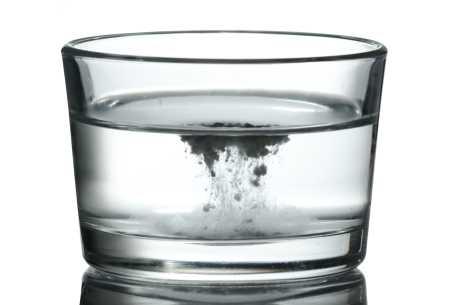 Bakepulver i vann
