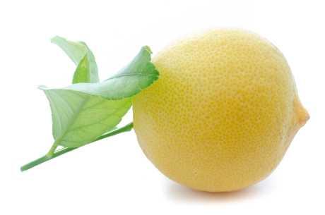 Sitron mot slapp hud