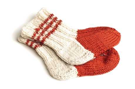 Sure sokker og tær