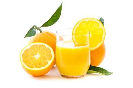 Appelsinjuice mot UVI