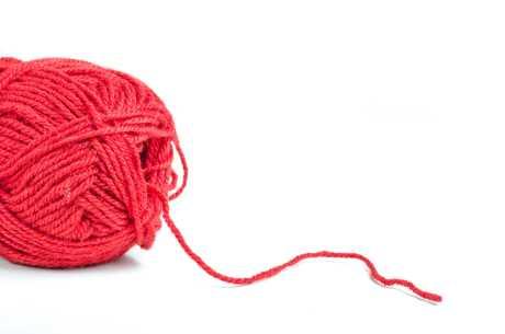 Rød ulltråd mot uro i bena
