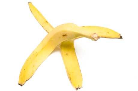 Bananskall mot vorter